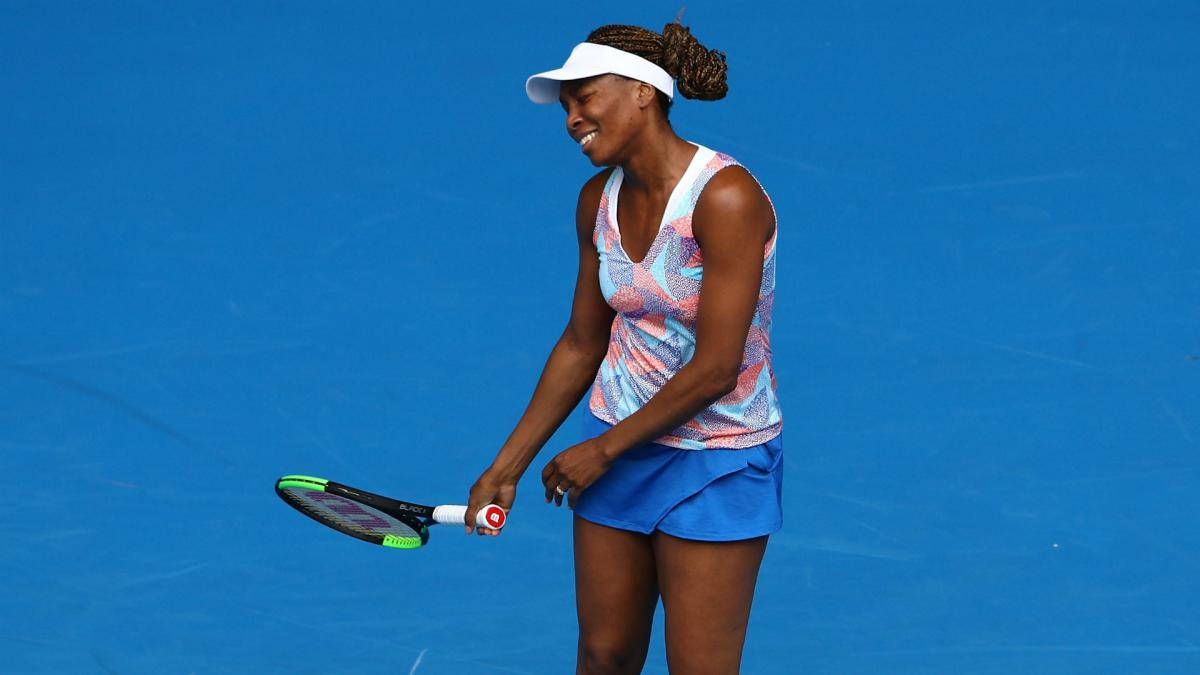 Venus Williams ousted by Bencic at Aus Open