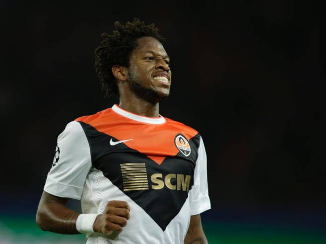 Shakhtar Donetsk attacking midfielder Fred