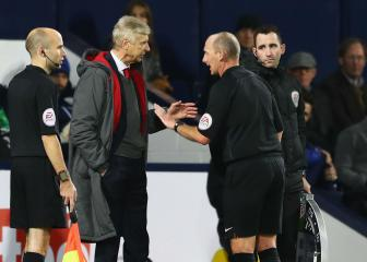 Wenger 'very aggressive' towards referee Dean, says FA