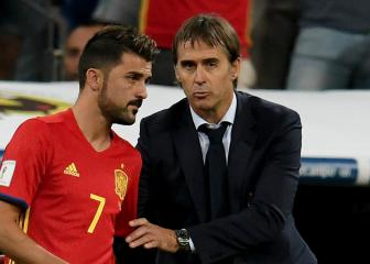 Villa determined to earn place in Spain's World Cup squad
