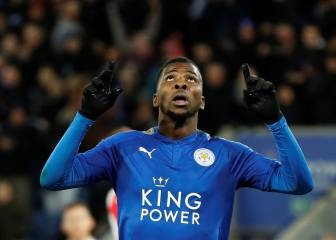 Leicester's Iheanacho scores first VAR goal in English football