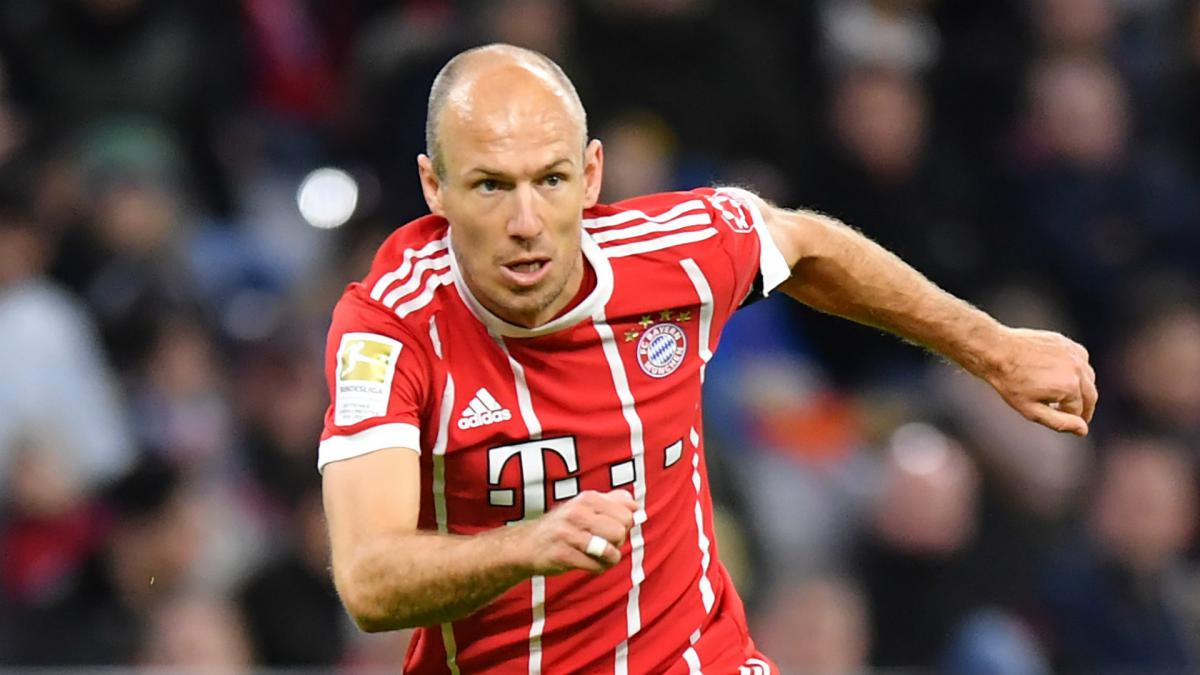Robben: Bayern star relaxed over contract talks as clubs circle