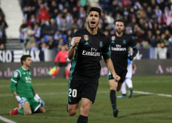 Madrid have one foot in the semi-final after Asensio magic