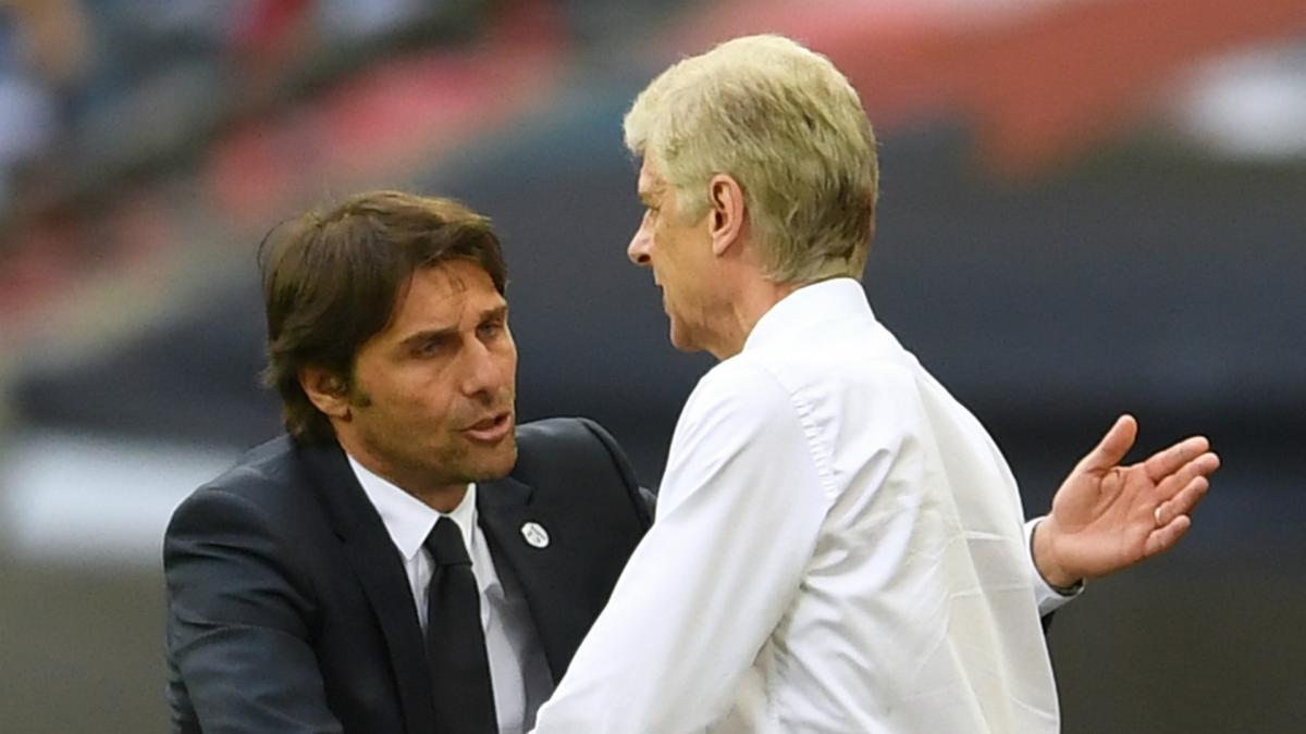 Conte should replace Wenger at Arsenal, claims Carragher