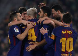 Barcelona dissect Betis in clinical half-hour spell