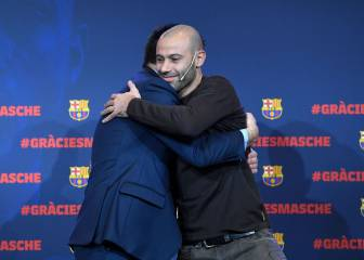Mascherano to leave Barcelona for Hebei China Fortune