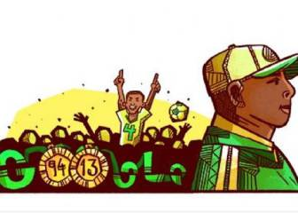 Google honours legendary Nigeria player and coach Stephen Keshi with a doodle