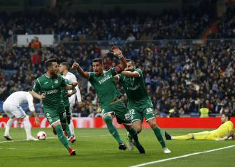 Leganés add to Madrid misery with gutsy Copa victory