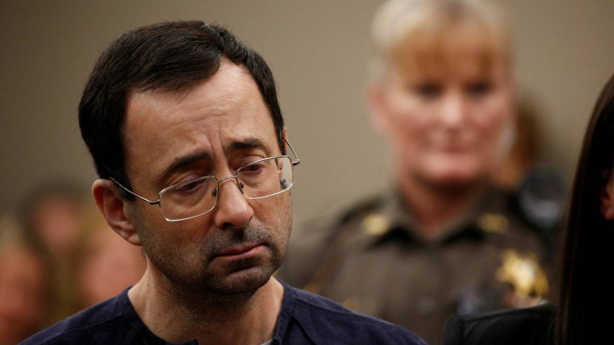 Larry Nassar sentenced to 175 years in jail