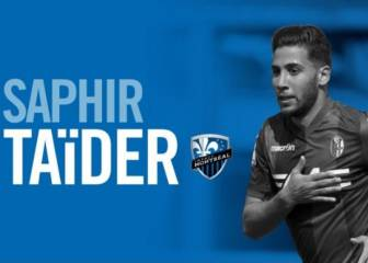 Saphir Taïder joins Montreal Impact on three-year deal