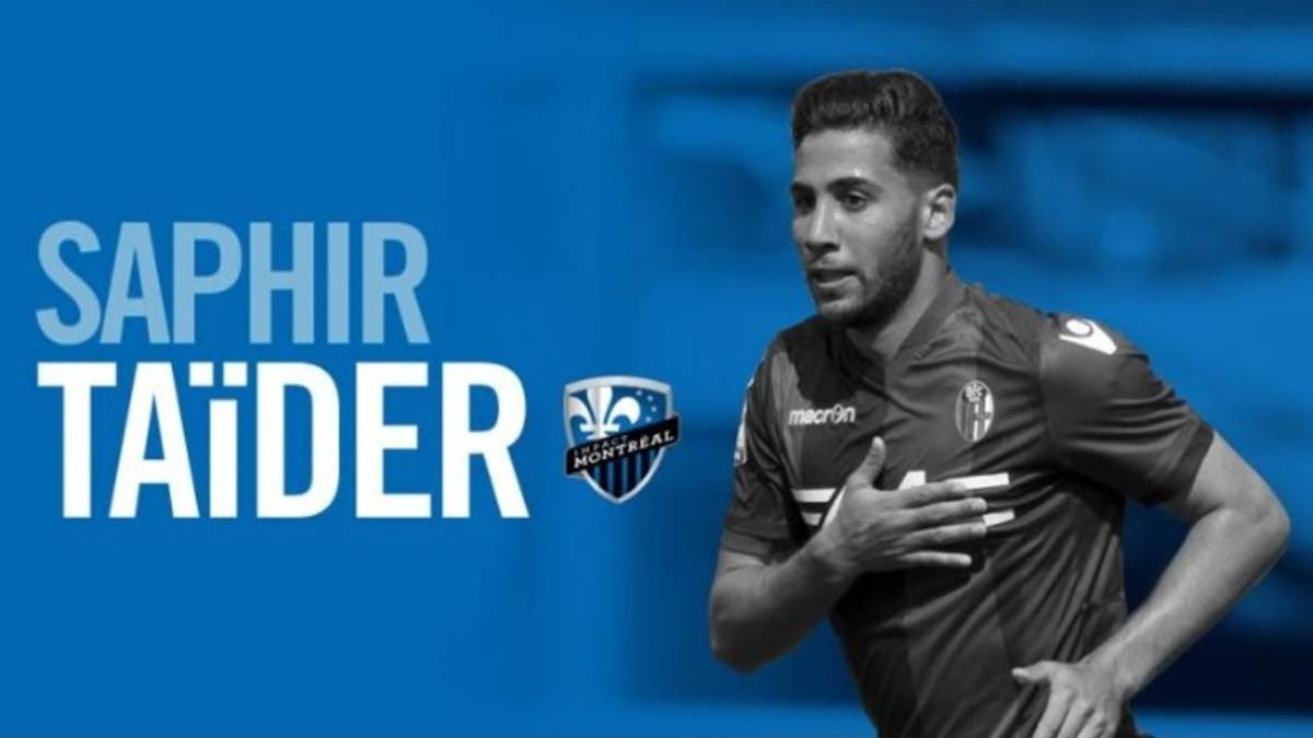 Algerian midfielder Saphir Taider signs for Montreal Impact