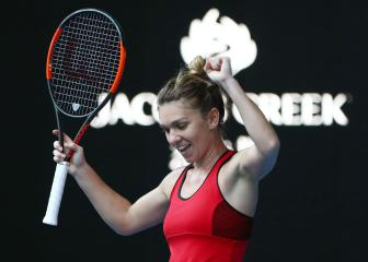 Halep 'shaking' after beating Kerber in Melbourne classic