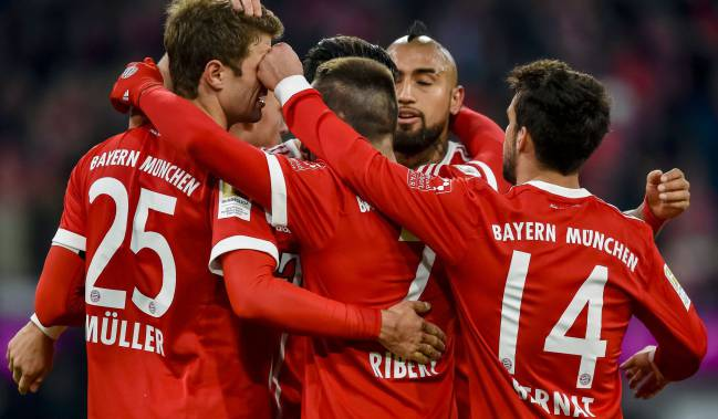 Bayern Munich continue to dominate German football.