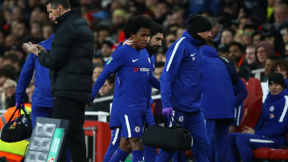 Morata, Courtois & Willian to miss Chelsea-Newcastle, confirms Conte