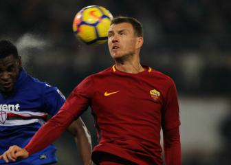 Dzeko's Roma future to be resolved by January 31
