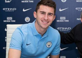 Manchester City complete club-record Laporte signing