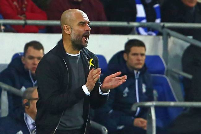Cheque writer | Manchester City's Spanish manager Pep Guardiola has built a talented, and expensive, squad.