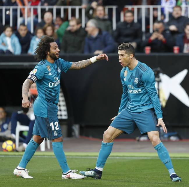Cristiano, Marcelo and co are a major challenge says Draxler.