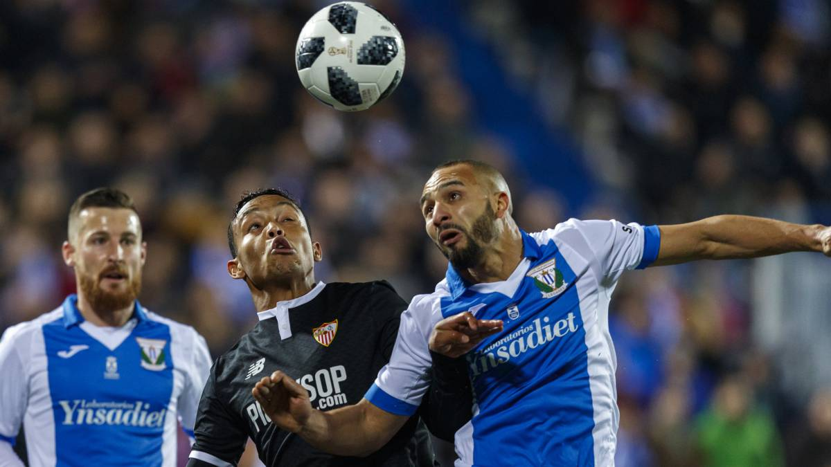 Leganés 1-1 Sevilla Copa del Rey semi-final: goals, as it happened