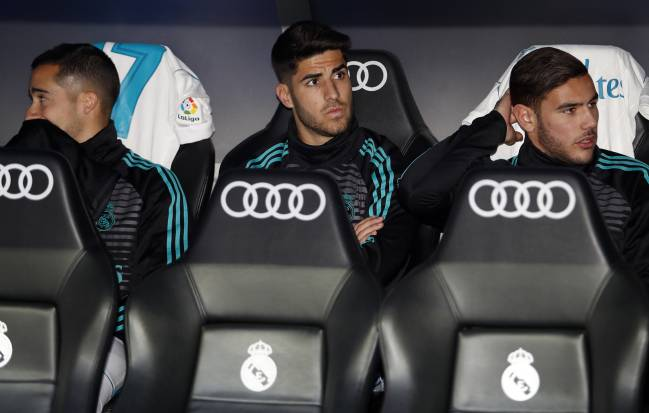 Marco Asensio needs more playing time at Real Madrid to ensure his place on the plane to Russia.