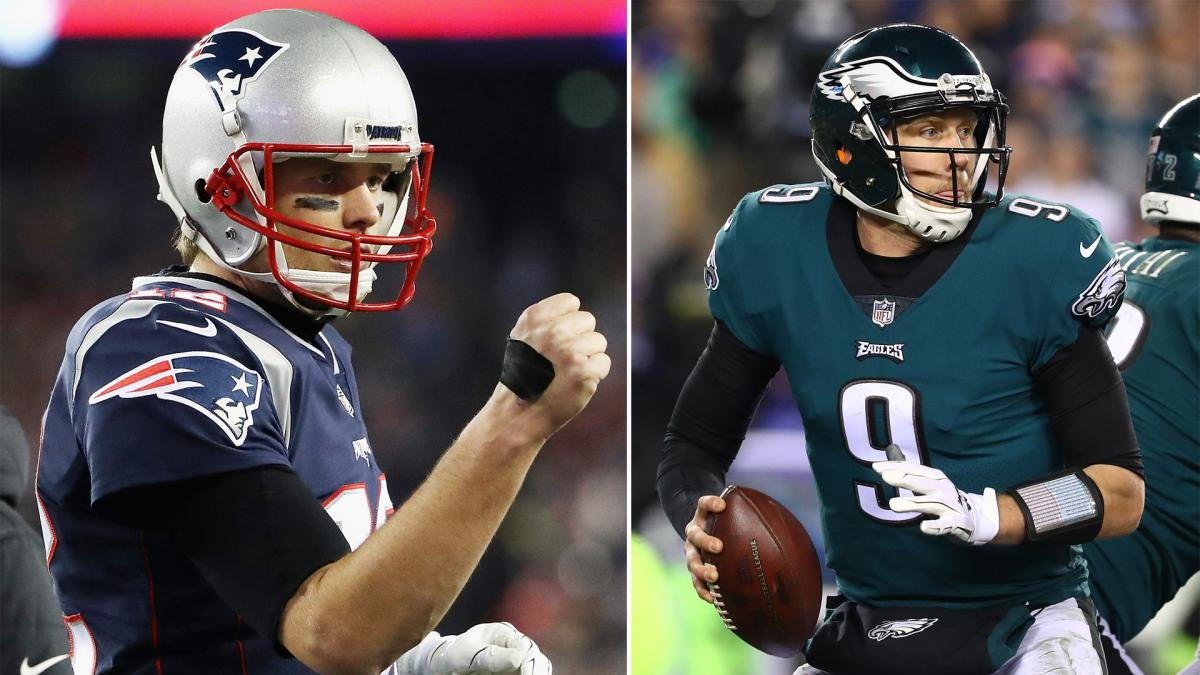 Super Bowl LII: Eagles vs. Patriots - 2005 vs. 2018