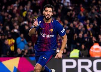 Suárez keeps scoring and gives Barcelona the upper hand