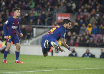Suárez goal gives Barca slender lead in Copa semi-final