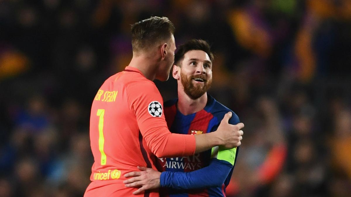 Messi is unstoppable - Ter Stegen describes Barca training