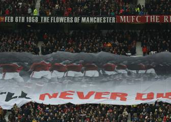 Man United pay respects to Munich victims 60 years on