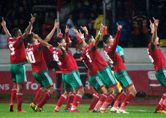 Morocco maul ten-man Nigeria to win on home soil