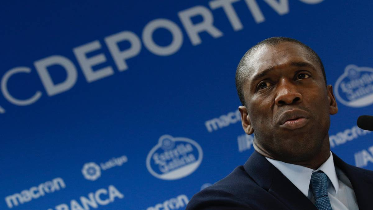 Seedorf named Deportivo La Coruña boss until end of season