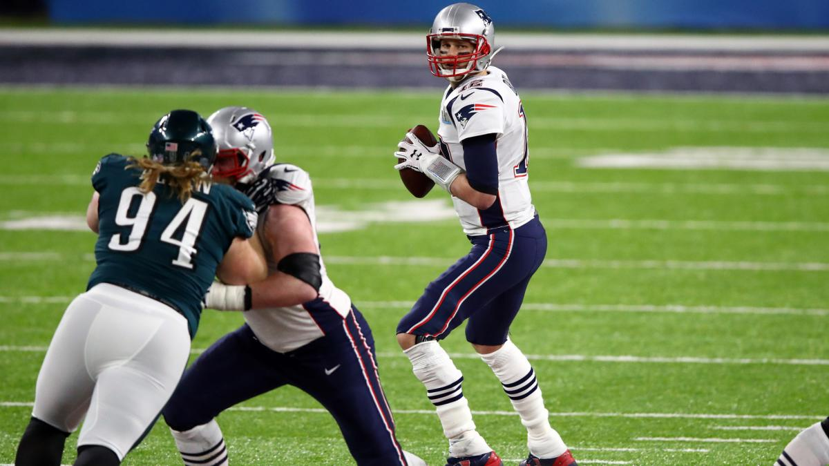 Brady breaks own Super Bowl record