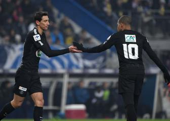 Mbappe calls for Di Maria to start when PSG face Madrid
