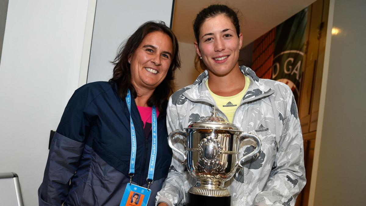 Muguruza to work with Martinez at upcoming tournaments