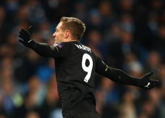 Vardy sets new Premier League record with Man City goal