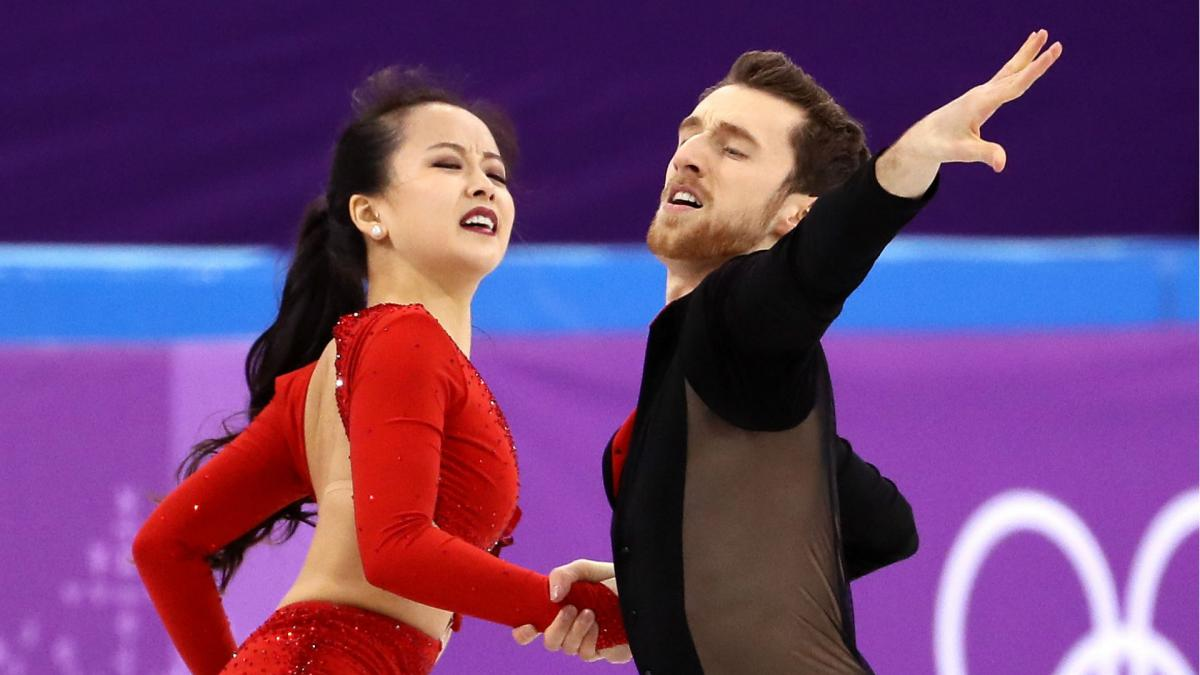 Winter Olympics 2018: Figure skater Yura Min suffers wardrobe malfunction