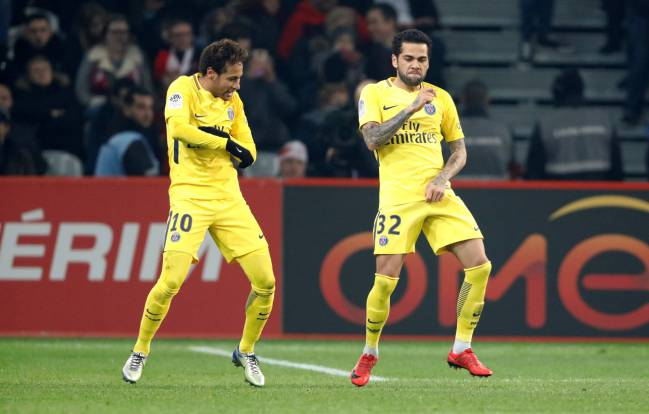 PSG's Dani Alves will be hoping for more dancing with Neymar in the Bernabéu.