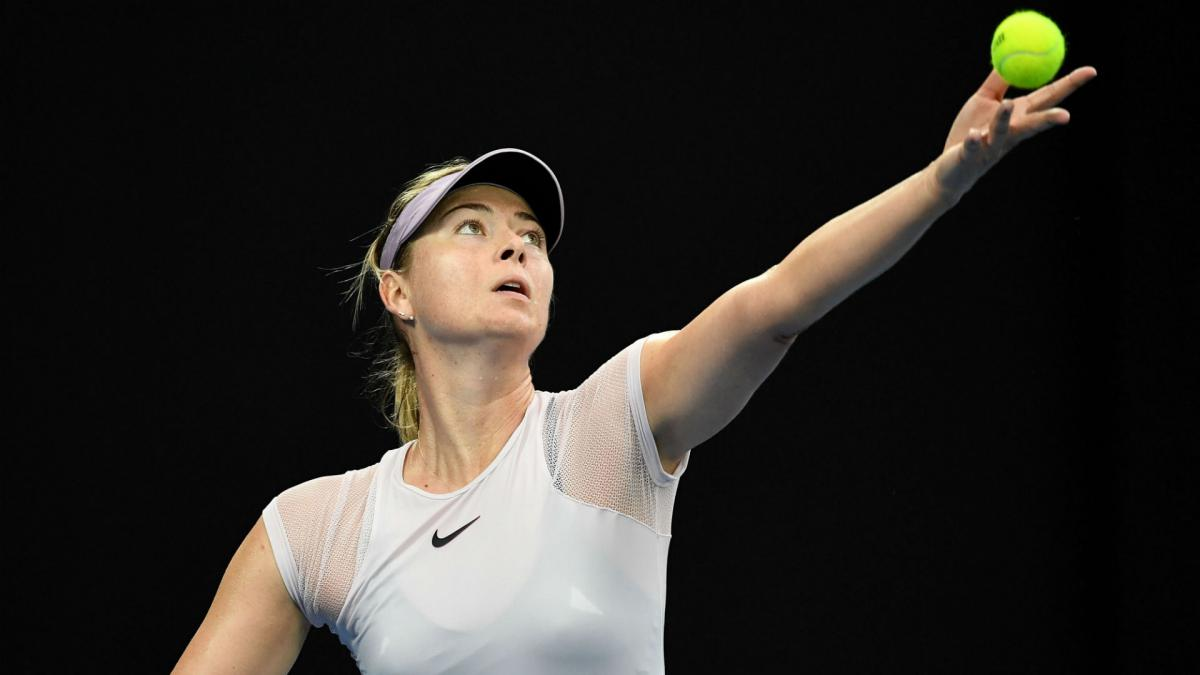 Sharapova beaten on Qatar return