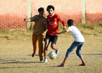 Nagrig, Egypt where every kid dreams of being Mo Salah