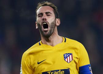 Atlético's Godín fit to face Copenhagen after losing teeth