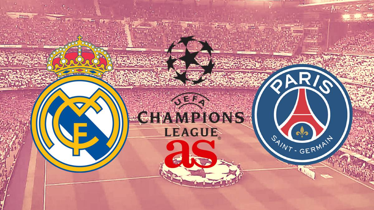 Real Madrid vs PSG live stream online: Champions League