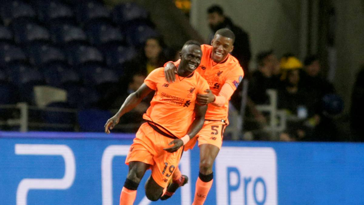 Mane hat-trick puts one Liverpool foot into quarters after Porto rout