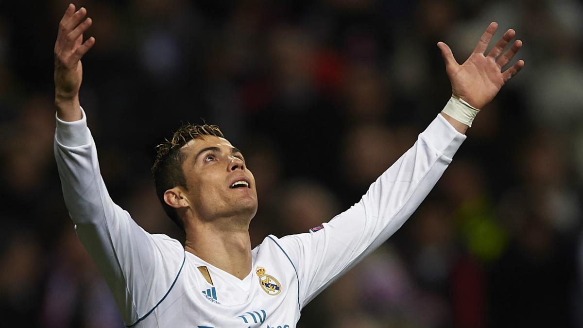Ronaldo first player to score 100 Champions League goals for single team