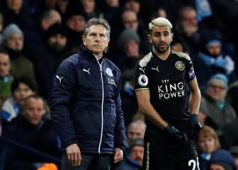 Man City out of order by trying to snatch Mahrez, says Puel