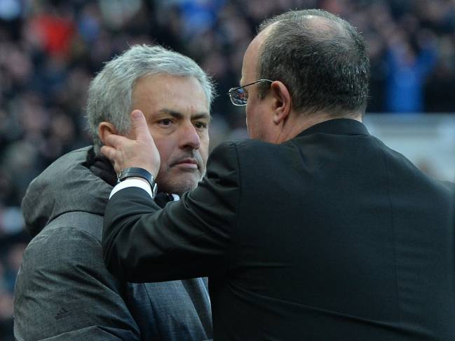 Making friends | Jose Mourinho really is the 'special one' when it comes to forging relationships with rival managers.