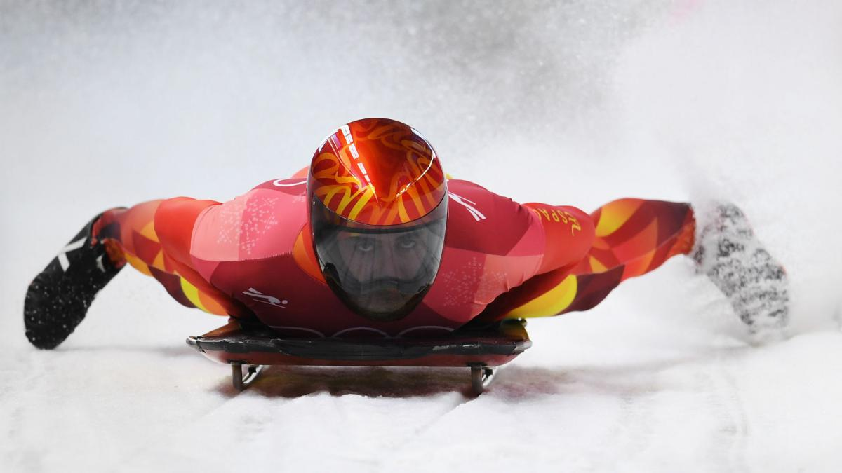 Winter Olympics 2018: Spanish slider\'s homemade shoes led to \'grater\' success
