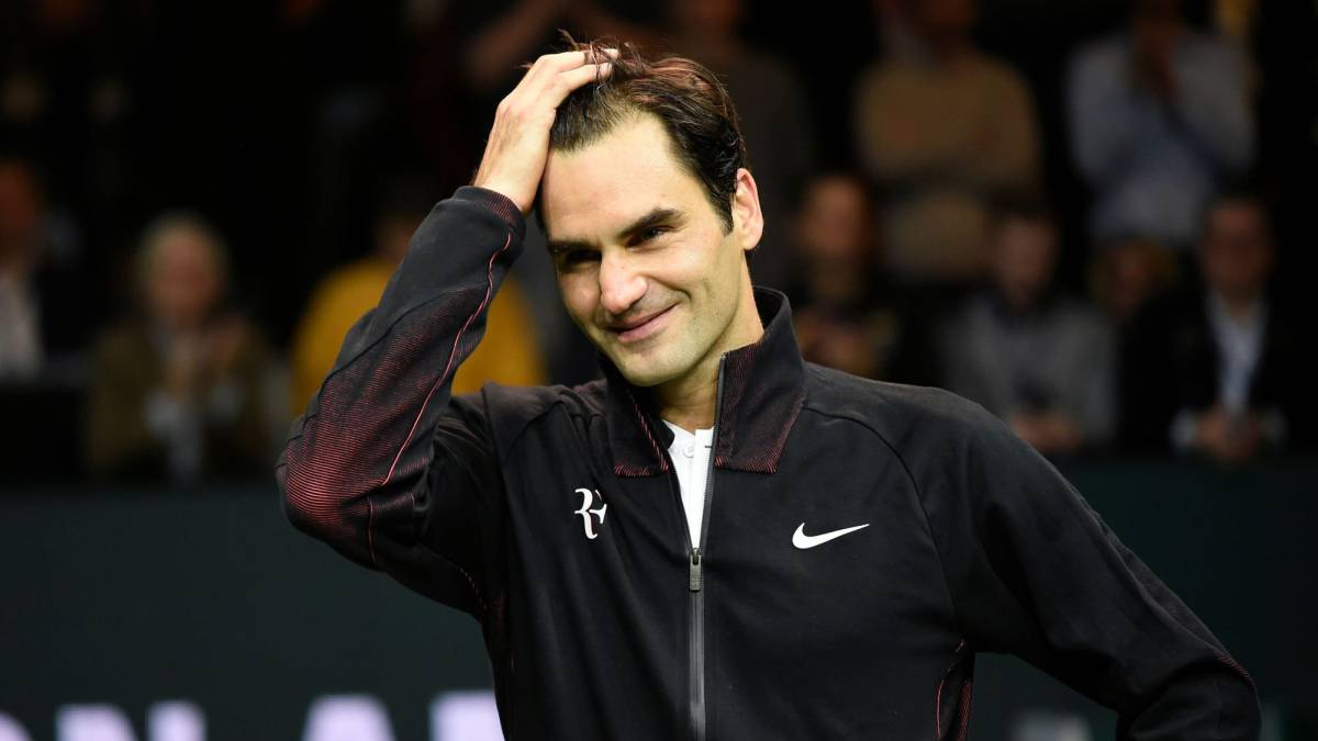 Top of the world: Federer, 36, becomes oldest number one