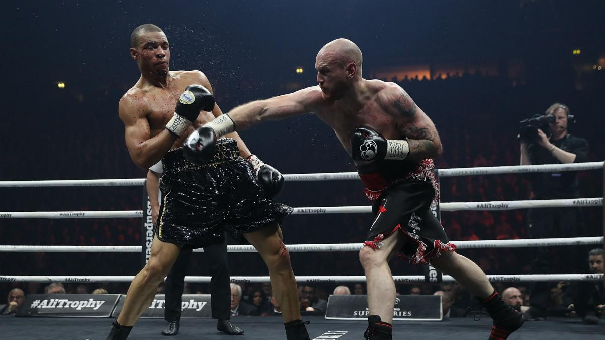 Groves batters Eubank Jr to retain WBA crown