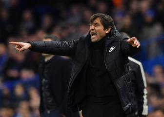 Conte with the perfect plan to hold Barça until Messi appeared