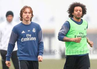 Injured Modric, Marcelo in race to be fit for PSG second leg